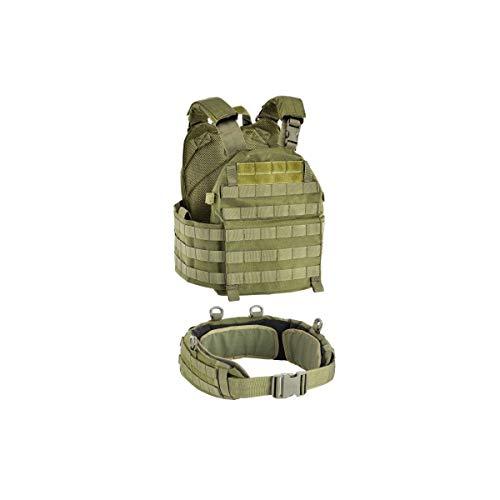 DEFCON 5 Erwachsene Vest Carrier Plattenträger, OD Green, Einheitsgrösse