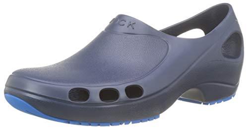 WOCK Everlite Plus Mocasines Unisex adulto, Azul marino, 40 EU