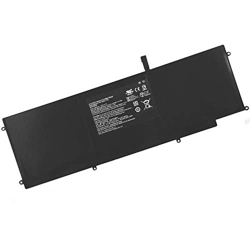 "SUNNEAR Replacement Battery 11.55V53.6Wh RC30-0196 For Razer Blade Stealth 2016 v2 i7-7500U 13.3"" Touch QHD I7-8550u RZ09-0239 RZ09-01962E10 RZ09-01962E52 RZ09-01962E53 RZ09-01962W10 Serie 3ICP4/92/80"