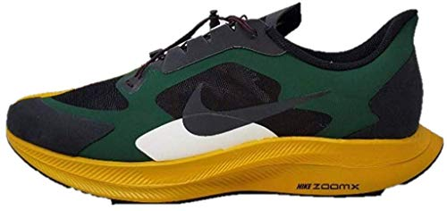 Nike Mens Zoom Pegasus 35 Turbo Gyakusou, Fir/Black/Gold Dart, 12 M US