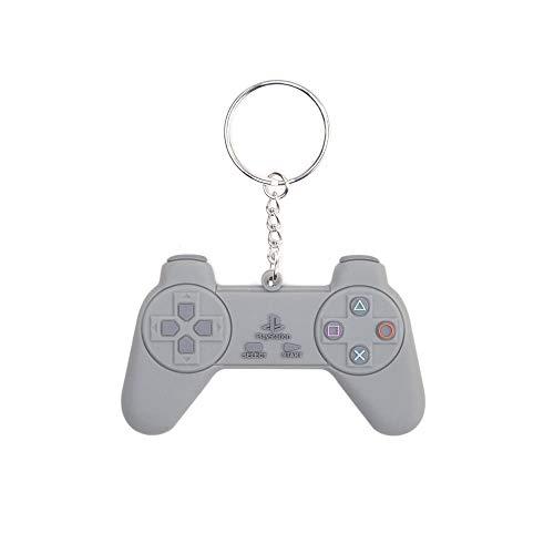 PlayStation - PS1 Controller - Schlüsselanhänger | 100% Gummi | Offizielles Sony Merchandise