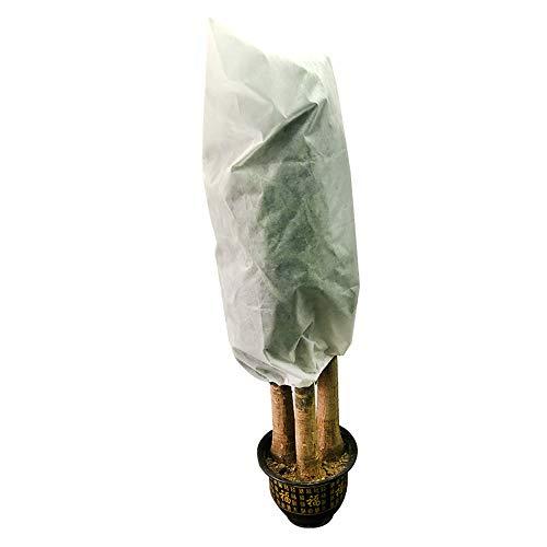 DXIA Cubierta de Protección de Plantas de Invierno, Funda para Plantas, Manta de Protección para Plantas, para la Protección de Plantas contra el Frío, Congelación, Viento y Nieve, 120cm*180cm