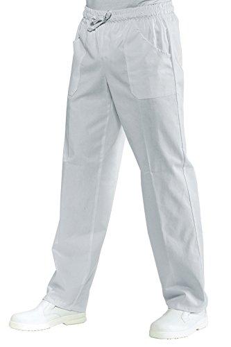 Pantalone con elastico boheme bianco Isacco S