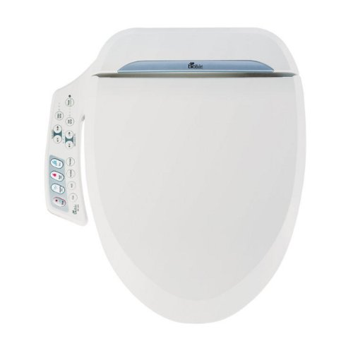 Bio Bidet Ultimate BB-600 Advanced Bidet Toilet Seat, Round...