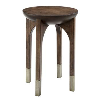 Madison Park Modern Paris Accent End Table with Dark Coffee Finish MP120-0948