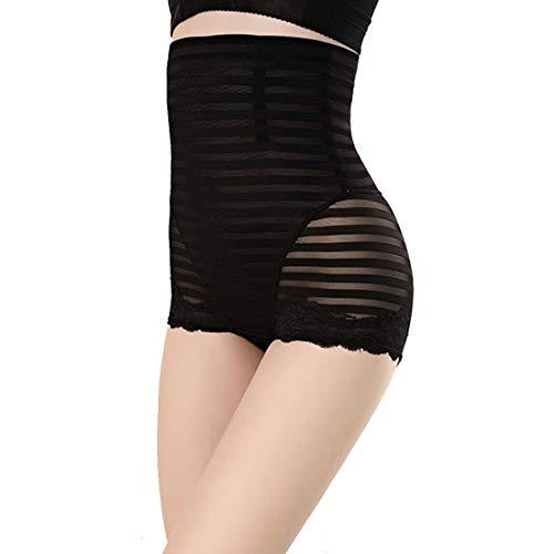 Women Butt Lifter Shapewear Pack of 3, Women Body Shapewear Best Slim Waist Trainer Corset Seamless High Waist Butt Lifter Tummy Control Panty Waist Trainer Body Shaper (Color : Black, Size : XL)