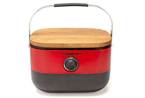 Cuisinart CGG-750 Portable, Venture Gas Grill, Red Big Cuisinart Grills on Propane Save