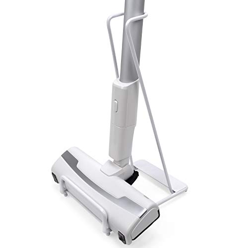HIMETSUYA Vacuum Stand for Small Size Vacuum Cleaners, Stable Metal Storage Bracket Stand, Durable and Anti-Rust Holder for Mini Electric Mop and Window Cleaning Brush