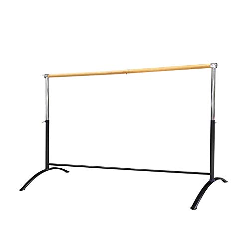 Wall Sculptures Ballet Equipment Free Standing Ballet Barre Portable for Home or Studio Height Adjustable Bar for Stretch Pilates Dance or Active Workouts Single Bar Kids and Adults 100X70cm