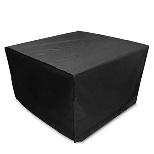 BAOFI 200x160x95cm Cubierta de Muebles de Exterior, Funda Muebles Patio Impermeable, Ropa de Mesa de Patio UV Tela Resistente Fuera de Comedor Mesa con 420D Oxford,Black