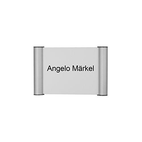 SignCo Clippo No.1 - Plaque de Porte Inter-Changeable 115x75 mm, Auto-adhésif,No.32504