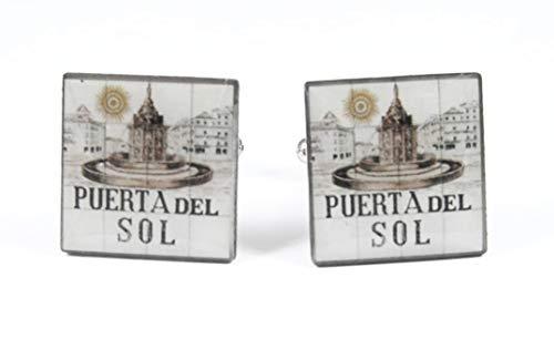 Gemelolandia   Gemelos Puerta del Sol de Madrid Gemelos Originales Para Camisas   Para Hombres y Niños   Regalos Para Bodas, Comuniones, Bautizos y Otros Eventos