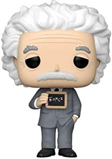 Funko- Pop Figura in Vinile Icons: Albert Einstein Scientist Collezione, Multicolore, 43543