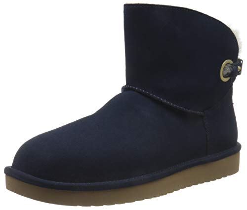 Koolaburra by UGG Women's Remley Mini Classic Boot, Insignia Blue, 36 EU