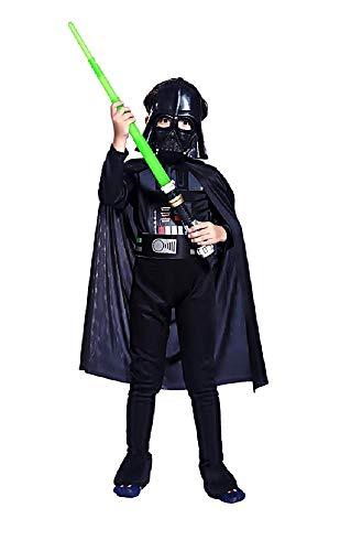 Star wars kostuum - krijger - jongen - vermomming - carnaval - halloween - accessoires - masker - zwaard - maat l - 9/10 jaar - cadeau-idee star wars cosplay