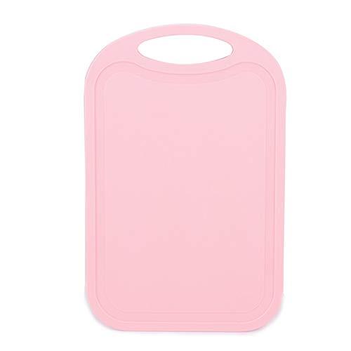 TOOGOO Plastic Tritacarne Antitrapano per Tagliere di Verdure in Pezzi di Carne con Tagliere Rosa