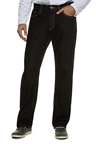 Jeans, Denim-Hose im 5-Pocket-Style, Stretch-Komfort, elastischer Bund & Regular Fit Black 66 708067 11-66