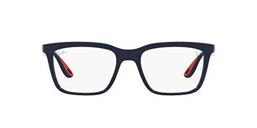 Ray-Ban 0RX7192M Gafas, Blue, 53 Unisex Adulto