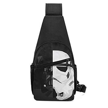 Darth Vader Stormtrooper Star War Sling Bag/Crossbody Chest Backpack/Shoulder Bags for Men Women Travel Hiking Cycling Casual Daypack