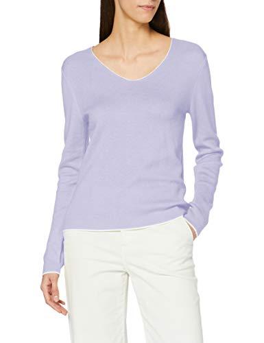 s.Oliver Damen 120.10.101.17.170.2060899 Pullover, Purple Haze, 36