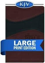 Remnant Study Bible KJV Large Print (Leathersoft Burgundy/Black) (King James Version)