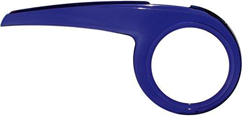 DEKAFORM Kettenschutz Performance Line 230-2 für BOC Bocas Decathlon Kettler Fahrrad bis 48 Zähne* blau-transparent