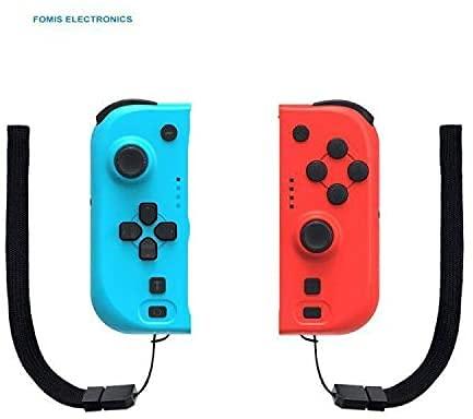 Mandos Switch Wireless Bluetooth Controller Gamepad Joystick Controlador De Reemplazo Izquierdo Y Derecho para switch, Doble Vibrac,With Wake up & NFC