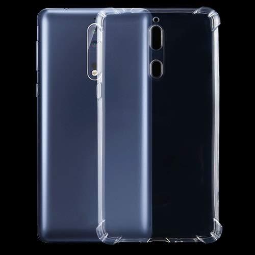 Nokiaケース ノキア8四隅耐震超薄型透明なTPUケースについて