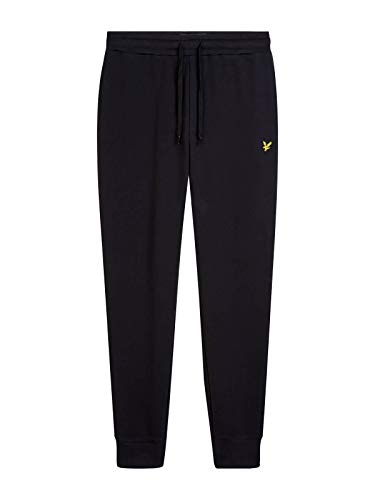 Lyle & Scott Herren Skinny Sweatpant Sporthose, Schwarz (True Black 572), W38 (Herstellergröße: XX-Large)