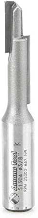 """popular Amana popular Tool - 51304 Carbide Tipped Stagger Tooth Plunge 3/8 Dia x 1-1/2 wholesale x 1/2"""" Shank online sale"""