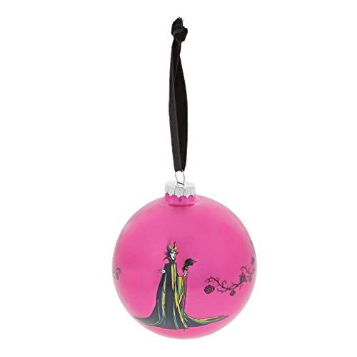 Enchanting Disney A30188 Palla di Natale Malefica, Multicolore, Taglia unica