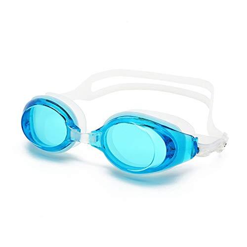 MHP zwembrillen zomer volwassenen zwemmen duikbril anti-condens en anti-UV-bril blauw 1