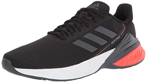 adidas mens Response Sr,Black/Grey/Dove Grey,11