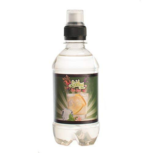 Lickleys 330ml Fles Alcohol Gratis Gin Gearomatiseerde Siroop Machines, Slush Puppy Style, IJsdranken, Maakt 2 liter