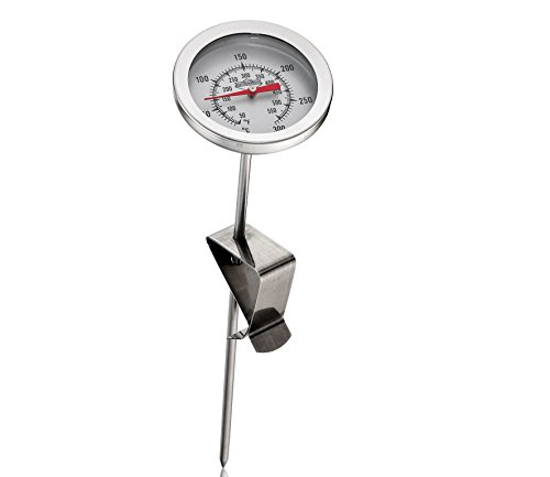 Küchenprofi Frittierthermometer, Edelstahl, 21,2cm