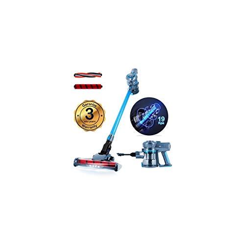 EZIclean Cyclomax air Xpert, Aspirateur Balai, Bleu, 75 décibeles