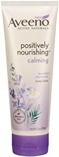 Aveeno Positively Nourishing Calming Lotion, 7 Ounce (Pack of 3)