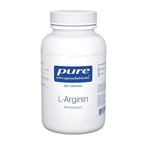 Pure Encapsulations - L-Arginin - Aminosäure - Hypoallergenes Präparat mit hochwertigem L-Arginin - 90 vegane Kapseln
