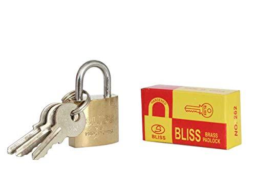 Bliss Vorhängeschloss + 3 Schlüssel 25mm No.262