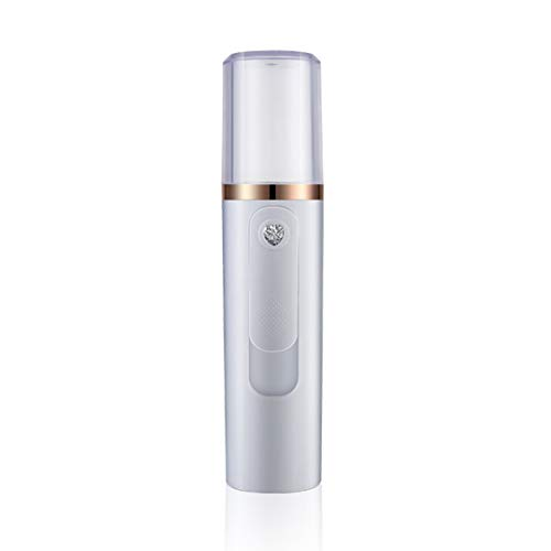 Dynamovolition Portable Handy Mist Spray Facial Moisturizing USB Rechargeable Mini Beauty Instrument Humidifier Daily Cooling Water Sprayer