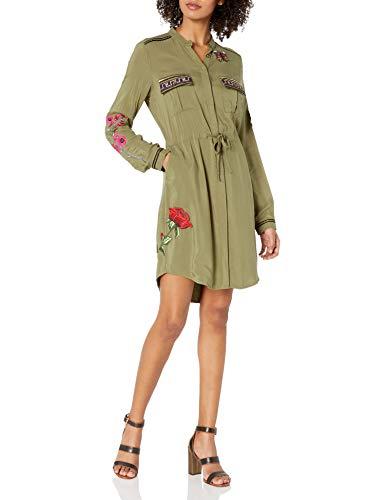 Desigual Women's Alabanza Woven Long Sleeve Dress