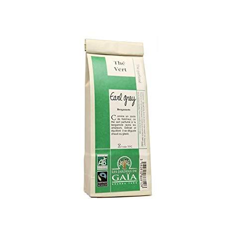 LES JARDINS DE GAIA Thé vert Earl Grey 100G Bio -