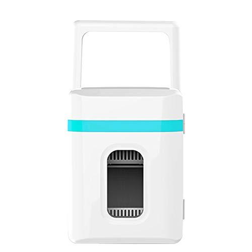 TWW Refrigerador Caja De Refrigerador Coche Portátil Hogar Mini Refrigeración Suministros De Coche 10L 10L Refrigerador Pequeño,Azul