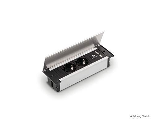 NABER Kapsa-USB, Steckdosenelement Steckdose/schwarz