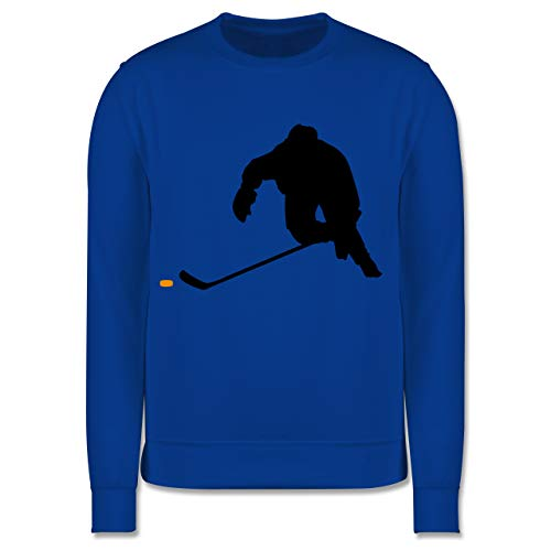 Sport Kind - Eishockey Sprint - 128 (7/8 Jahre) - Royalblau - Eishockey Pullover - JH030K - Kinder Pullover