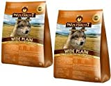 Warnicks - Mangiatoia per animali, a forma di sangue di lupo, con carne di cavallo, 2 x 2 kg