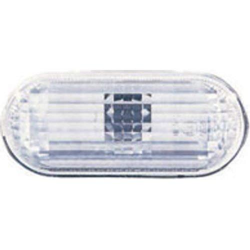 Depo 3040400 Réversible, feu lateral, sans porte-lampe, blanc