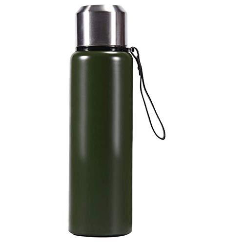YUNLAN Frasco de pared doble Thermo - Acero inoxidable de vacío botella con material aislante de agua 1.3L -BPA gratuito, 12 horas caliente y fría las 24 Horas - for niños, gimnasio, al aire libre, Of