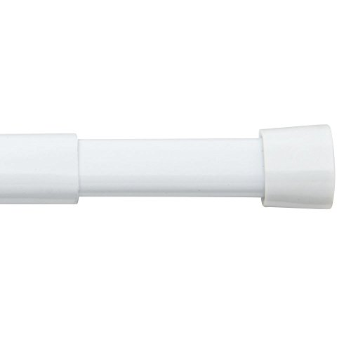 Bali Blinds Oval Spring Tension Rod, 36-60', White - 26-8720-10