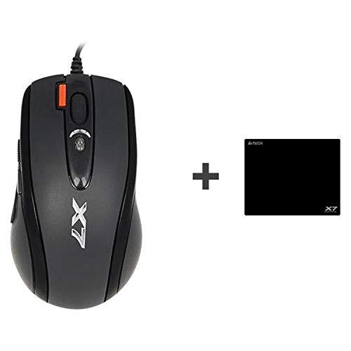 A4 Tech Gaming-Maus X710 2000 DPI USB + X7 A4TMYS46028 Schwarz